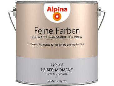 Alpina ALPINA Farbe » Feine Farben Leiser Moment«, 2,5 l, lila, Graziles Graulila