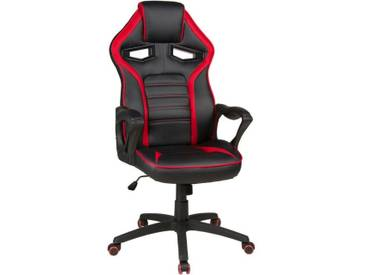 Duo Collection Chefsessel »Splash«, Gaming-Chair, rot, schwarz-rot