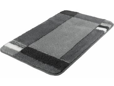 Kleine Wolke Badematte »Padova« , Höhe 20 mm, rutschhemmend beschichtet, fußbodenheizungsgeeignet, grau, 20 mm, anthrazit