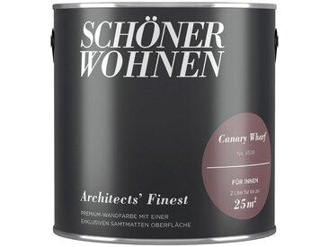 SCHÖNER WOHNEN-Kollektion SCHÖNER WOHNEN FARBE Wand- und Deckenfarbe »Architects' Finest - Canary Wharf«, 2 l, braun, Canary Wharf