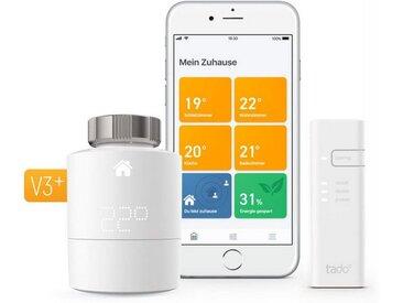 Tado Smart Home Zubehör »Heizungsthermostat - Starter Kit V3+ inkl Bridge«, weiß, Weiß