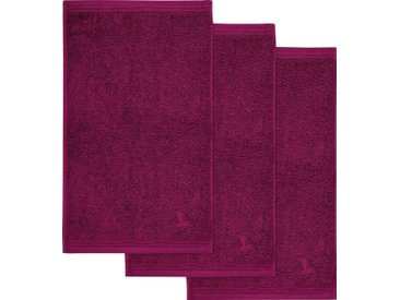 Möve Gästehandtücher »Superwuschel«, in kräftigen Farben, rosa, beere