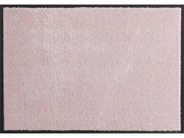 HANSE Home Fußmatte »Deko Soft«, rechteckig, Höhe 7 mm, saugfähig, waschbar, rosa, 7 mm, rosa