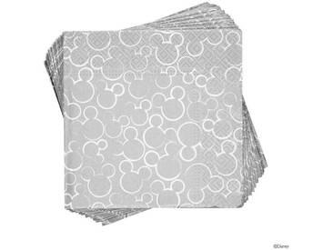 BUTLERS DISNEY »Lunchserviette Mickey Kopf«, Länge 33 x Breite 33 cm