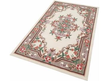 THEKO Teppich »Ming«, rechteckig, Höhe 14 mm, Hochwertiges Acrylgarn, natur, 14 mm, beige