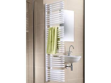 Schulte SCHULTE Designheizkörper »Porto«, weiß, Ausführung 2: 1056 Watt, 120 cm, weiß