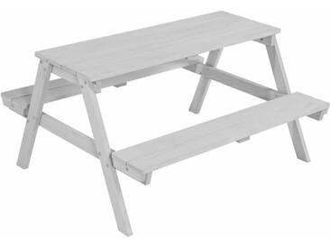 Roba® Roba Kindersitzgruppe, »Picknick for 4, grau«, grau, grau