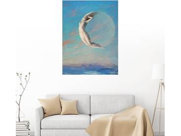 Posterlounge Wandbild - Albert Aublet »Selene«, bunt, Holzbild, 120 x 160 cm, bunt