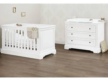Pinolino® Pinolino Babyzimmer Sparset »Emilia« breit (2-tlg.), weiß, weiß