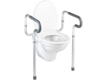 WENKO Wenko Haltegriff »Secura WC-Stützhilfe«, silberfarben, silberfarben