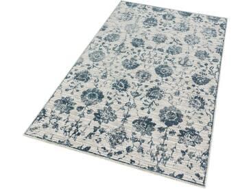 SCHÖNER WOHNEN-KOLLEKTION Teppich »Brilliance 184«, rechteckig, Höhe 10 mm, blau, 10 mm, blau
