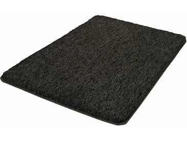 Kleine Wolke Badematte »Seattle« , Höhe 25 mm, rutschhemmend beschichtet, fußbodenheizungsgeeignet, grau, 25 mm, schiefer