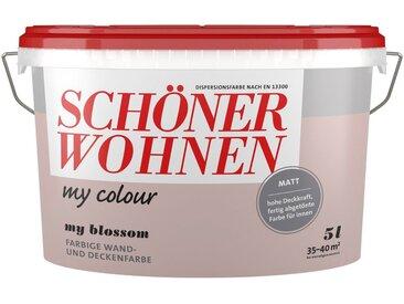 SCHÖNER WOHNEN-Kollektion SCHÖNER WOHNEN FARBE Wand- und Deckenfarbe »my Colour - my blossom«, matt, 5 l, rosa, my blossom