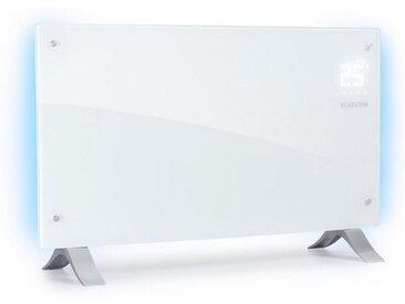 Klarstein Konvektionsheizgerät 1000/2000W weiß »Bornholm Curved Ambient«, weiß, weiß