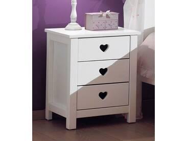 Vipack Furniture Nachttisch »Amori«, weiß, weiß