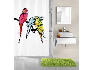 Kleine Wolke KLEINE WOLKE Duschvorhang »Parrot«, Breite 180 cm, bunt, bunt