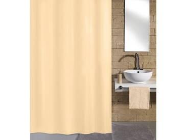 Kleine Wolke KLEINE WOLKE Duschvorhang »Natur«, Breite 180 cm, natur, beige