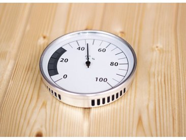 Karibu KARIBU Sauna-Hygrometer »Classic«, weiß, weiß