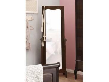 Home affaire Standspiegel «Lebo», Breite 62 cm, Höhe 175 cm, braun, kolonialfarben