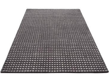 Theko Exklusiv Teppich »Kubat«, rechteckig, Höhe 18 mm, Hoch-tief effekt, grau, 18 mm, anthrazit