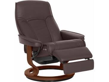 Stressless® Relaxsessel »Senator« mit Classic Base und LegComfort™, Größe L, mit Schlaffunktion, braun, Fuß braun, chocolate