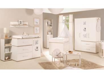 Roba® Roba Babyzimmer Set (3 Tlg) Kinderzimmer »Moritz« Breit,