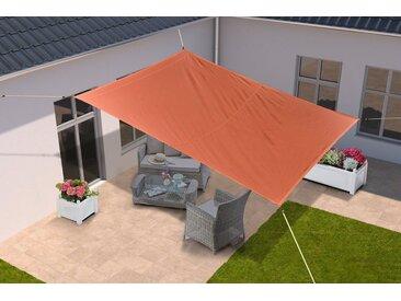 KONIFERA Sonnensegel 300x250 cm, in versch. Farben, orange, 250 cm, 300 cm, orange