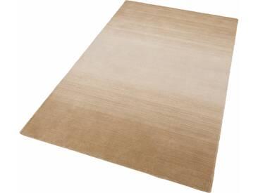 THEKO Teppich »Wool Comfort«, rechteckig, Höhe 15 mm, Wolle, natur, 15 mm, beige