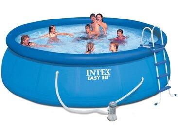 Intex Pool »Easy Set Pool-Komplettset« (Set), blau, blau
