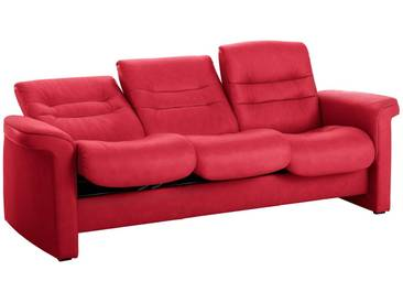 Stressless® 3-Sitzer Sofa Low »Sapphire«, rot, chilli red