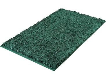 Kleine Wolke Badematte »Delight« , Höhe 24 mm, rutschhemmend beschichtet, fußbodenheizungsgeeignet, grün, 24 mm, smaragd