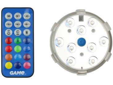 Clear Pool CLEAR POOL Poolbeleuchtung »Unterwasserlicht«, mit Magnetbefestigung, grau, 8 cm, grau