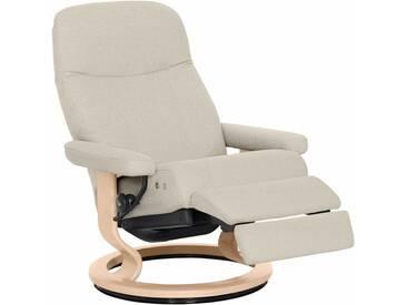 Stressless® Relaxsessel »Garda« mit Classic Base und LegComfort™, Größe L, mit Schlaffunktion, natur, Fuß naturfarben, light beige