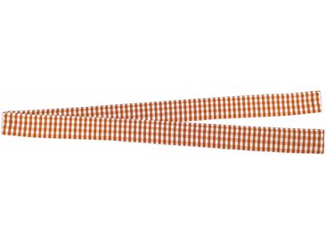 VHG Raffhalter »Resi«, Gardinen, (1-tlg), in Leinenoptik, orange, terrakotta
