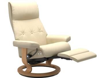 Stressless® Relaxsessel »Sky« mit Classic Base und LegComfort™, Größe L, Gestell naturfarben, natur, vanilla PALOMA