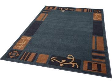 THEKO Teppich »Versailles 7098«, rechteckig, Höhe 11 mm, blau, 11 mm, blau