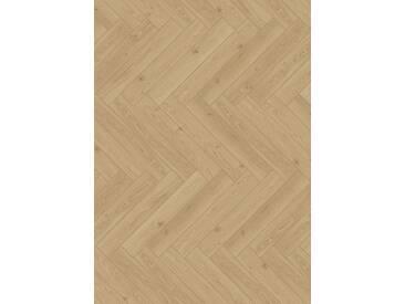PARADOR Laminat »Trendtime 3 - Eiche Studioline«, 858 x 143 mm, Stärke: 8 mm, braun, braun