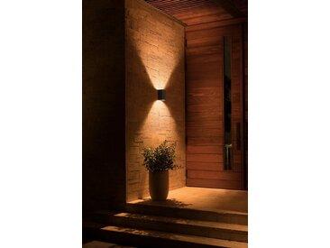 Philips Hue LED Außen-Wandleuchte »Resonate«, 2-flammig, schwarz, schwarz