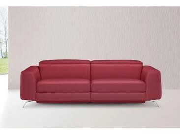 NATUZZI EDITIONS 3-Sitzer, rot, rot