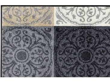 wash+dry by Kleen-Tex wash & dry Fußmatte, grau, grau