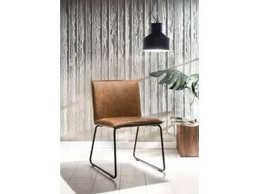 SIT Stuhl »2486« in Vintage-Optik (2er Set), braun, braun