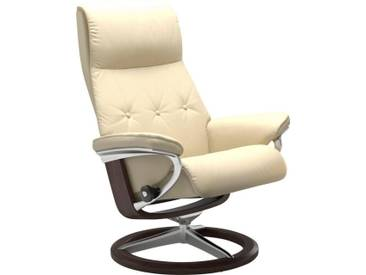 Stressless® Relaxsessel »Sky« mit Signature Base, Größe M, Gestell wengefarben, natur, vanilla PALOMA