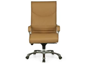 Amstyle Chefsessel »MILANO«, natur, caramel