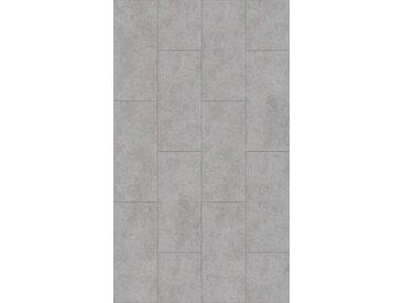 PARADOR Packung: Vinylboden »Trendtime 5.50 - Beton Grau«, 904 x 396 mm, Stärke 5 mm, 2,1 m², grau, grau