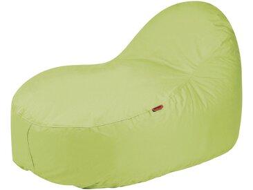 OUTBAG Sitzsack »Slope XL Plus«, wetterfest, für den Außenbereich, BxT: 115x140 cm, grün, grün