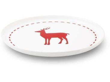 FRIESLAND Frühstücks-Set, Steingut, weiß, Weiß