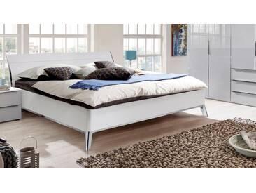 nolte® Möbel Bett »Sonyo«, in drei Breiten, weiß, ohne Matratze, polarweiß