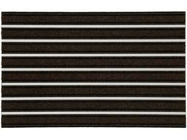 HANSE Home Fußmatte »Alustar«, rechteckig, Höhe 13 mm, braun, 13 mm, braun