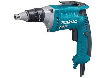 Makita MAKITA Schnellbauschrauber »FS6300«, 570 W, ohne Akku, blau, Ohne Akku, blau