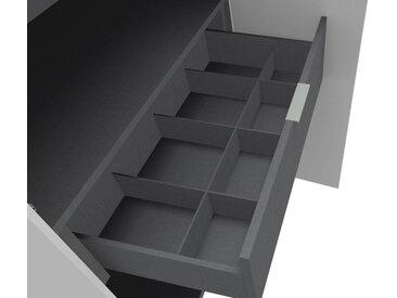 set one by Musterring Inneneinteilung für Schubkasteneinsatz für die Serien »dayton« und »fontana«, grau, Breite 100 cm, Höhe 16 cm (für Einsätze mit 1 Schubkasten)